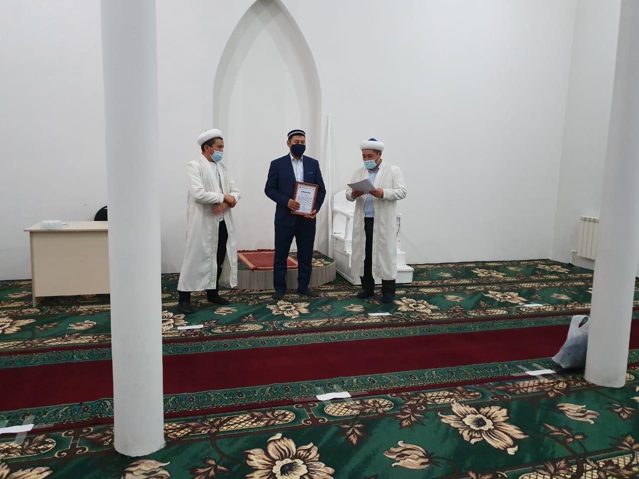 Жағабұлақ ауылына жаңа имам