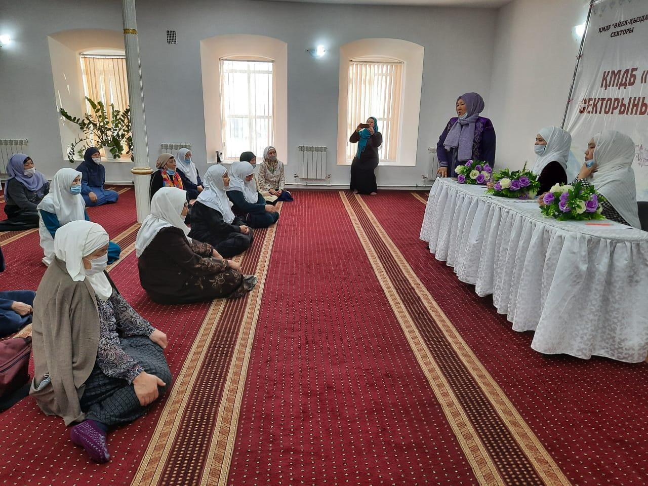 Ақтөбе: «Әйел-қыздар» секторының қызметі қайта жанданды