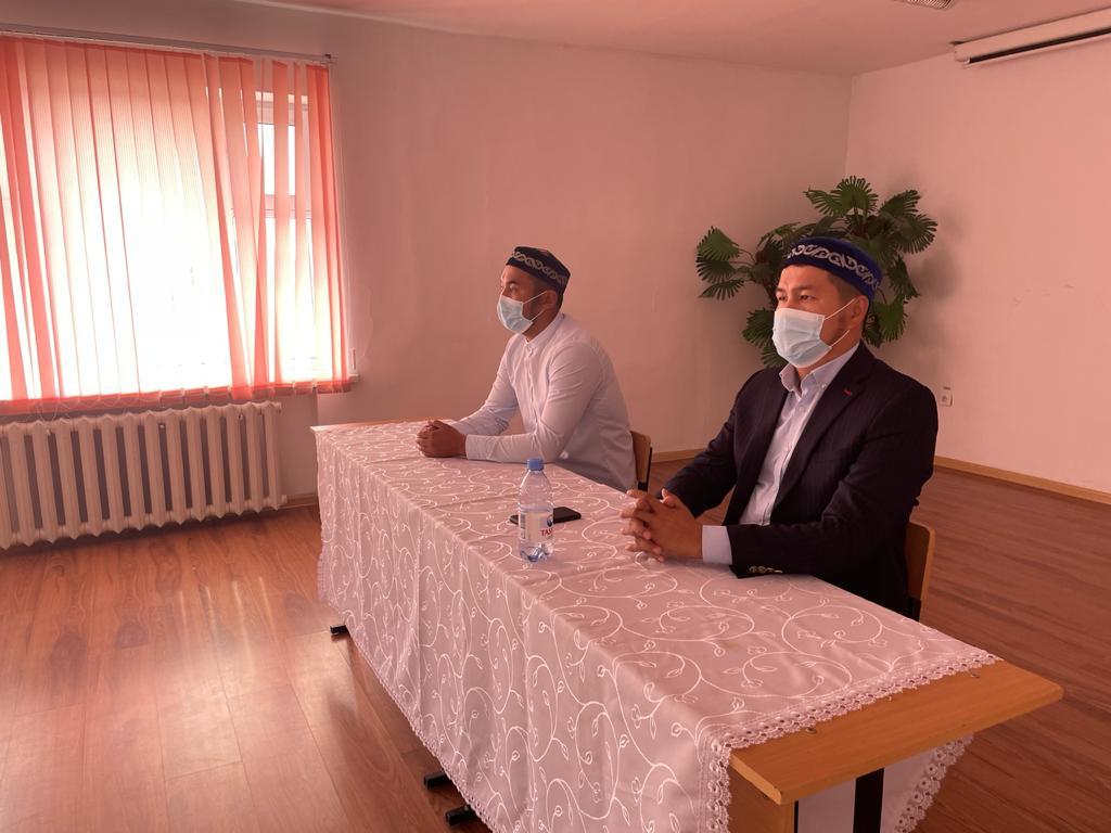 «Қайырқожа» мешітінің имамы Әйтеке би ауданында іс-сапарда болды